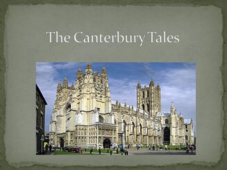 canterbury pilgrims history essay The story revolves around thirty pilgrims journeying to becket's canterbury  the canterbury tales summary,  you don't have to waste your time writing an essay.