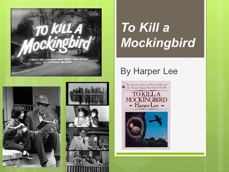 does harper lee use minor characters kill mockingbird expl