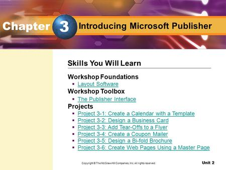 Introducing Microsoft Publisher