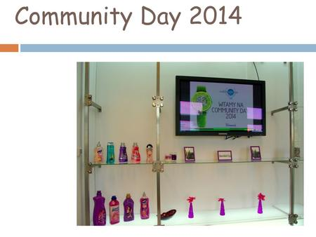 Community Day 2014. Firmenich is a Swiss company based in Grodzisk Maz producing and selling fragrances and aromas. The Community Day is a charity event.