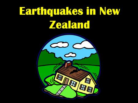 Earthquakes in New Zealand. Global Distribution of Earthquakes.