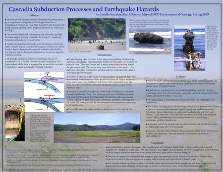 Abstract Prior decades of scientific research document the potential for a great megathrust earthquake on the Oregon coast due to subduction of the Juan.