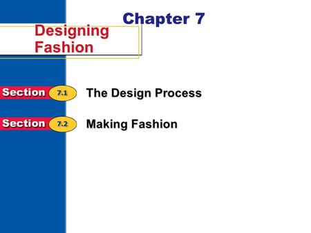 Chapter 7 Designing Fashion The Design Process Making Fashion.