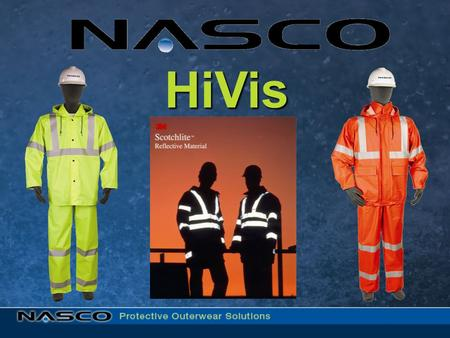 HiVis. Why High Visibility Rain Wear? Providing workers maximum visibility while keeping them dry in foul weather situations where vehicular traffic poses.