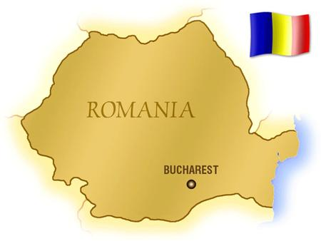 ROMANIA – GENERAL INFORMATION Location: - in south-eastern Europe; Surface : 238.391 square km; Population : 21 623 000 inhabitants; (89.5% romanians,