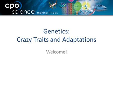 Genetics: Crazy Traits and Adaptations