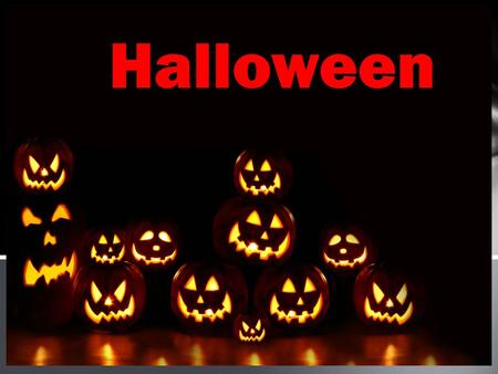 Halloween. Halloween or Hallowe'en also known as All Hallows' Eve, is a yearly celebration observed in a number of countries on October 31, the eve of.