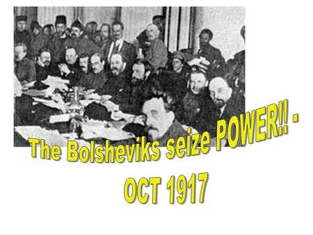 After July days – it dropped dramatically By Oct 1917 – situation had transformed After Kornilov affair – Bolsheviks were not seen as the biggest threat.