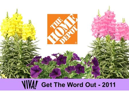 Get The Word Out - 2011. 2011 Get the Word Out was created as a training tool for store associates, grower merchandisers and sales reps – or anyone else.
