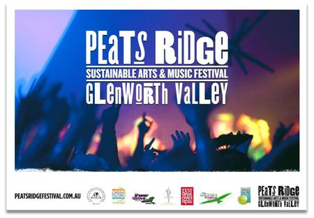 Peats Ridge was founded in 2004 with the intention to marry sustainability to the Festival experience. It is Australia's leading sustainable event and.