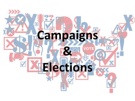 Campaigns & Elections.