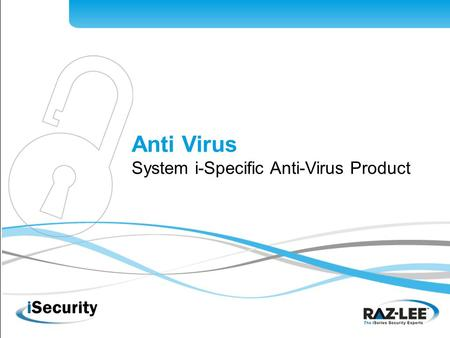 1 Anti Virus System i-Specific Anti-Virus Product.