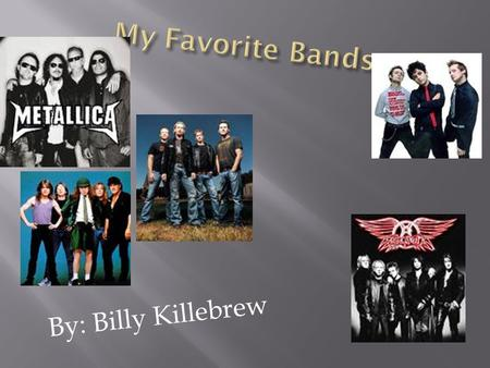  By: Billy Killebrew.  Chad Kroeger / lead singer  Ryan Vikedal / drummer  Mike Kroeger / bass  Ryan Peak / lead guitarist.