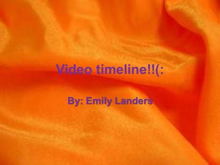 Video timeline!!(: By: Emily Landers Radio Astronomy In 1931, While trying to track down a source of electrical interference on telephone transmissions,