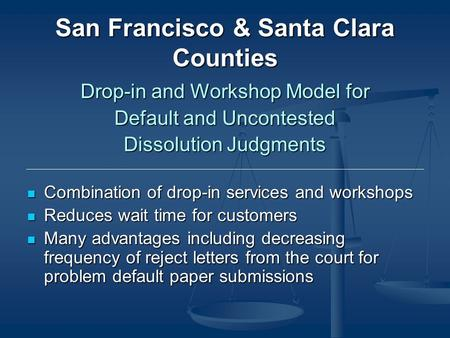 Self help divorce workshop series presented by michelle c hopkins san francisco santa clara counties drop in and workshop model for default and uncontested solutioingenieria Image collections
