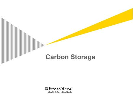 Carbon Storage. Presentation titlePage 2 Overview of Geological Storage.