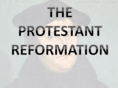 Irrevocable split in the RCC b/w Catholic and Lutheran Eventually Protestants split into many different sects Three flavors: Protestant Reformation English.