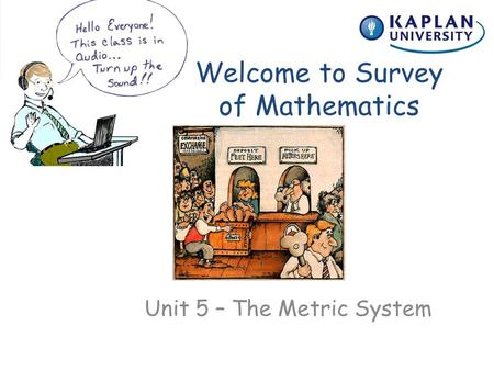 Welcome to Survey of Mathematics