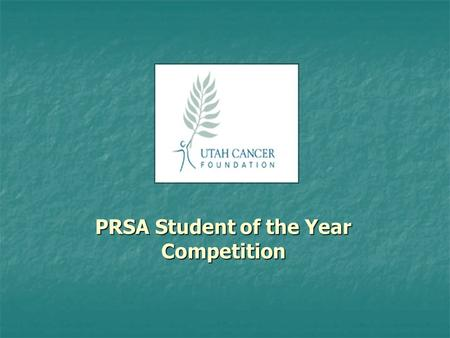 PRSA Student of the Year Competition. Introduction I approached this project as a patient looking for information on community service programs. By surveying.