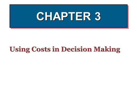 chapter 3 cost accounting Cost accounting 13 edition horngren (chapter 3 quiz and exercises) chapter 3 cost-volume-profit analysis (instant download.