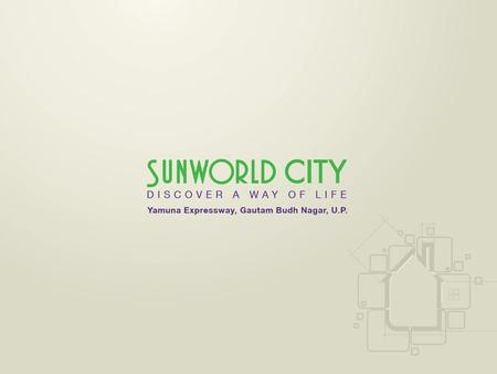 Sunworld City, a 104 acre mega township that houses only 700 plots to redefine the paradigm of convenient living. Sunworld City, a gated community with.
