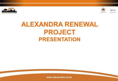 ALEXANDRA RENEWAL PROJECT
