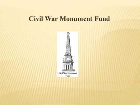 Civil War Monument Fund. Why was this organization created? The Stephenson County Soldiers Monument has been a part of down town Freeport for 142 years.