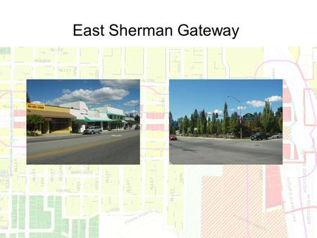 East Sherman Gateway.