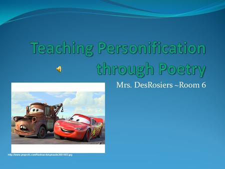 Mrs. DesRosiers ~Room 6