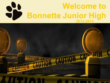 Welcome to Bonnette Junior High 2013-2014.  Counselors: Ms. Sheffield & Mrs. Cruse  Librarian: Ms. Bowman  Nurse: Mrs. Graham  Assistant Principals: