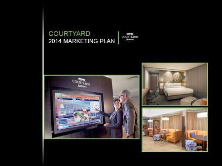 COURTYARD 2014 MARKETING PLAN. OVERVIEW POSITIONING CORE MESSAGE TARGET DISTRIBUTION AND GROWTH 2014 COURTYARD GLOBAL SUMMARY  Largest global brand (#