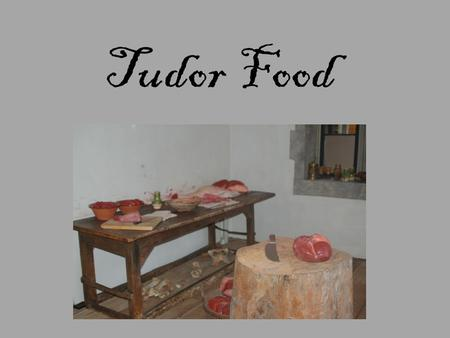 Tudor Food. What Did Henry VIII Eat? The King picked from a large selection of food at every meal. A first course might be chines of beef, venison in.