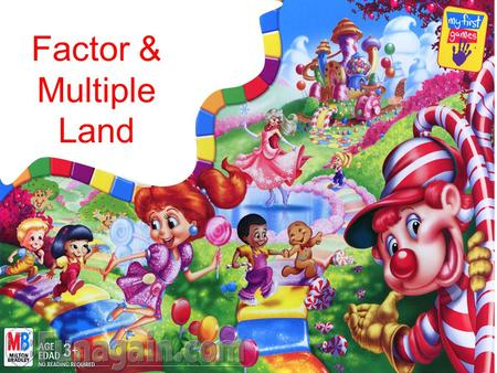 Factor & Multiple Land. Find the greatest common factor of 28 and 32.