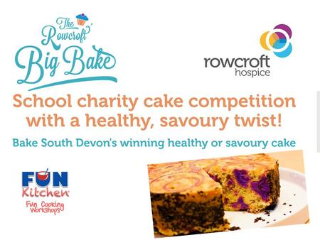 What is it all about? School healthy savoury cake competition! Represent the school and WIN the chance to cook for BBC 'Great British Bake Off' baking.