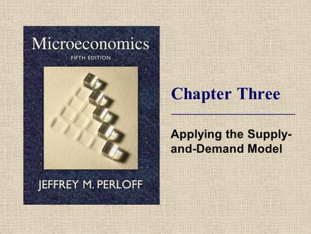 Applying the Supply-and-Demand Model