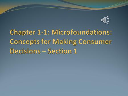 Microeconomics and Macroeconomics What is microeconomics? Microeconomics deals with the behavior of individual consumers, households, and businesses.