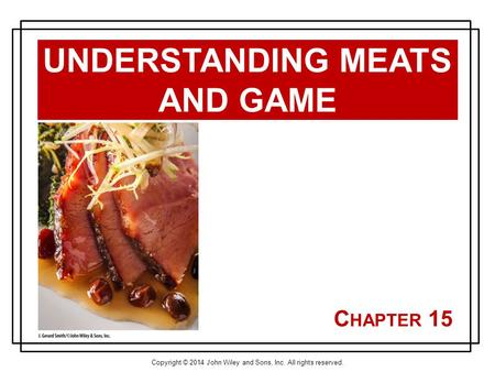 Understanding Meats and Game