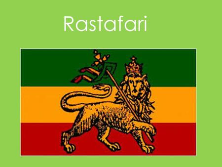Rastafari. Someone who follows the Rastafari faith is called a Rastafarian or Rasta. Rastas believe that God lives in man. They call God 'Jah'. They also.