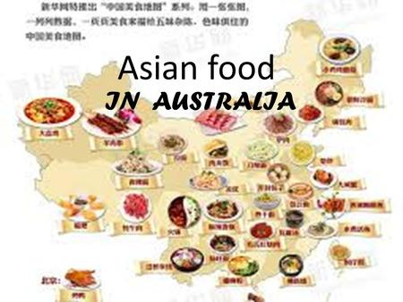 Asian food IN AUSTRALIA. When Asia meets Australia 当亚洲遇上澳洲 BOOM.