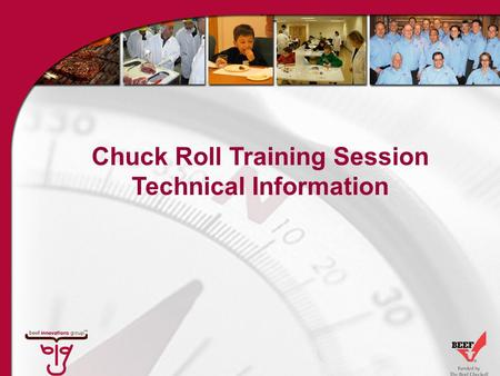 Chuck Roll Training Session Technical Information.