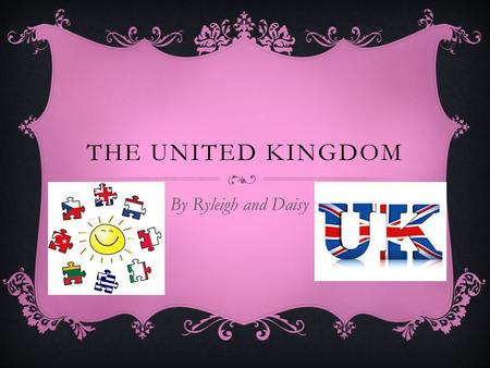 THE UNITED KINGDOM By Ryleigh and Daisy. CONTENTS PAGE  Page 1; About the united kingdomAbout the united kingdom  Page 2; Traditional food and drinkTraditional.