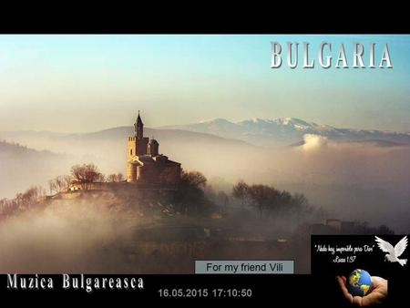 16.05.2015 17:12:35 For my friend Vili Bulgarian Assembly Building.