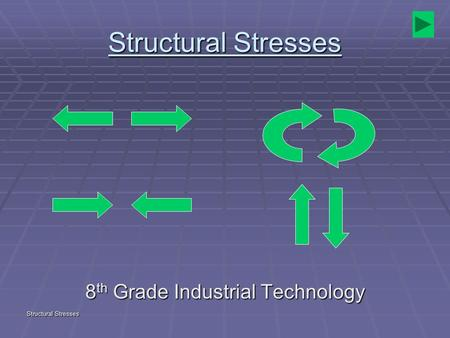 Structural Stresses 8 th Grade Industrial Technology.