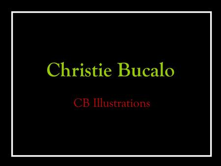 Christie Bucalo CB Illustrations. Drawings October 15th Pen and colored pencil.