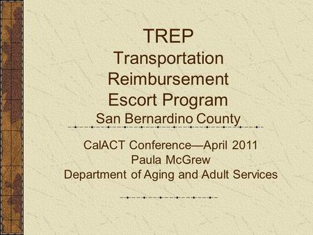 Adult aging service san bernardino
