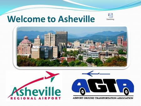 Welcome to Asheville. 1961 – AERIAL VIEW 1961 – AIRSIDE.