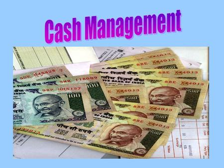 1. Financing of PO-Principles Cash should be available to meet demand Not to be held in excess of demand Easy Mode of –Clearance of cash –Getting of cash.