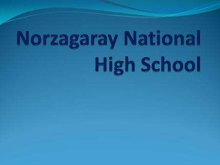 NNHS is located along Villarama Highway in Barangay Poblacion, Norzagaray, Bulacan. The main campus of of the school is situated in a 2,464 sq. m. site.