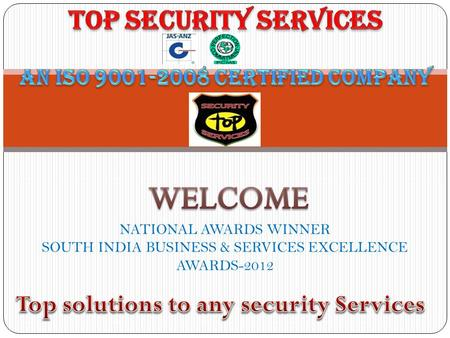 Services Provided By Us are Security services Detective Service Electronic Security systems.