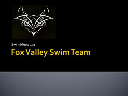 Swim Meets 101.  Pre meet information  Event page  Meet packet  Entries.